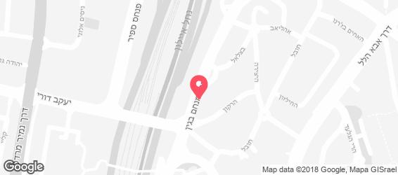 סלט בר ישראלי - מפה