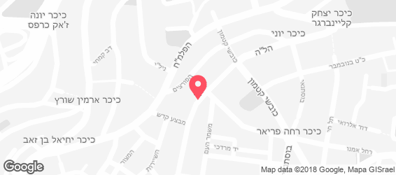 הלחם של תומר - מפה