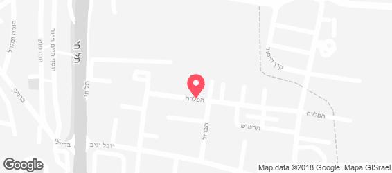 שיפודי רון - מפה