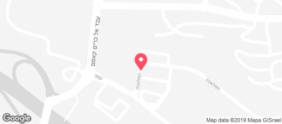 פלפלים בר סלטים - מפה