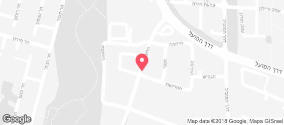 חומוס פול ושמן זית - מפה
