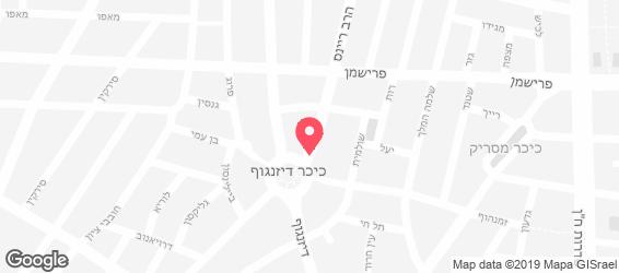 ביר גרדן - מפה