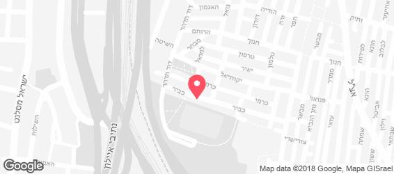מזנון רבקה - מפה