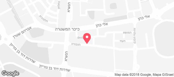 שווארמה אשקלון - מפה