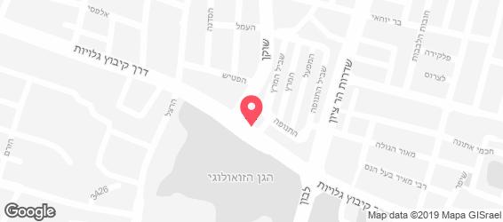 ארומה - מפה
