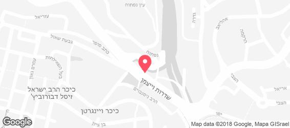 הלו תימן - מפה