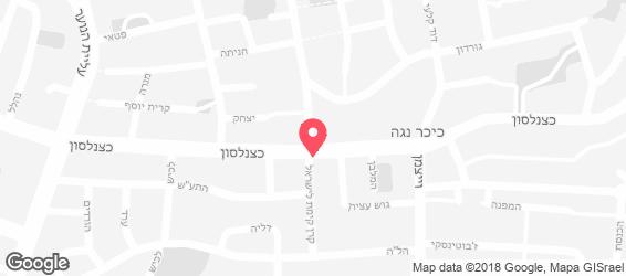 צ'יצ'ו גריל ישראלי - מפה