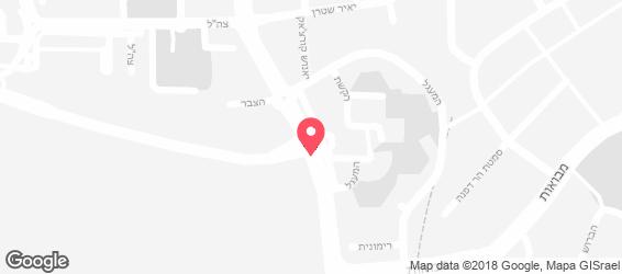 המעדנייה של גולדשטיין - מפה