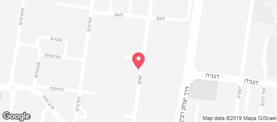 ג'פניקה - מפה