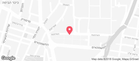 פורטר אנד סאנס - מפה