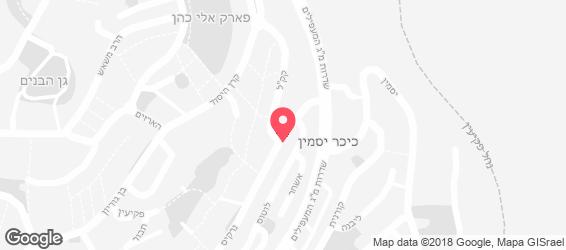 חומוס פול אל-חיאט - מפה
