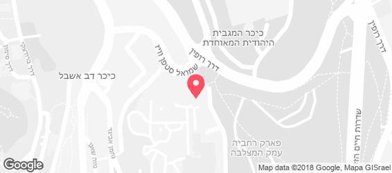 מודרן, מוזיאון ישראל - מפה