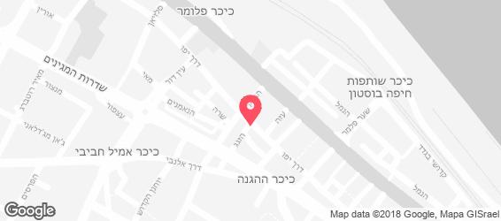 אלי'ז פאב - מפה