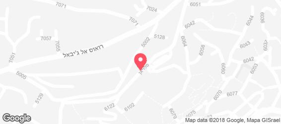 מסעדת זיכריאת - מפה