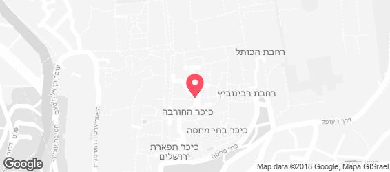 מוצרלה - מפה