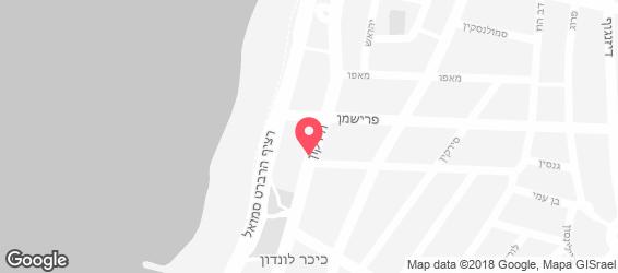 הירקון 99 - מפה