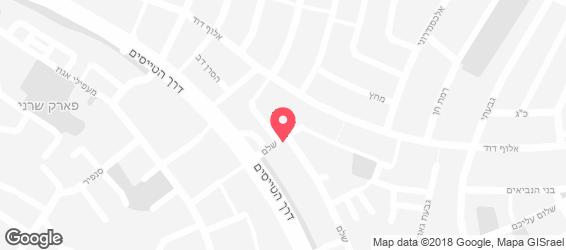 חומוס יוסף - מפה