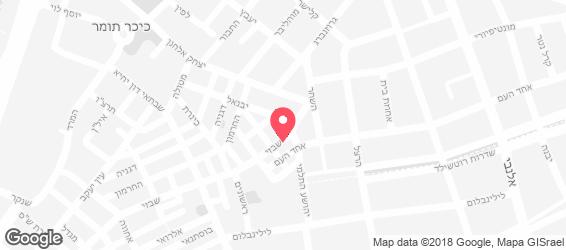 אוספים - מפה