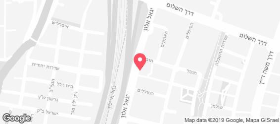יפו תל-אביב - מפה