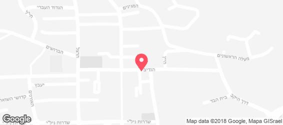 דומינו'ס פיצה - מפה