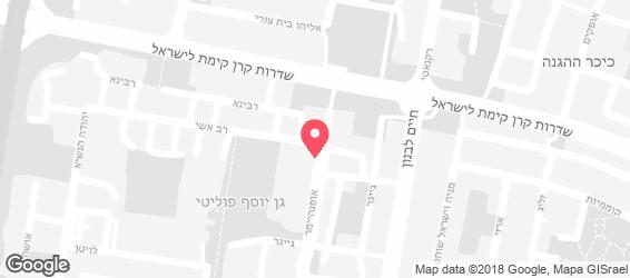 טורי TORii תל אביב - מפה