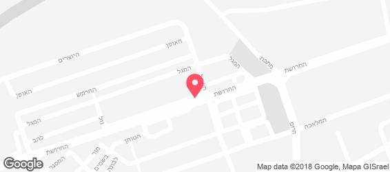 אן-ג'י בר& קיטשן - מפה