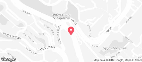 זיסלק רמות ירושלים - מפה