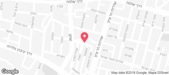 א-לה רמפה - מפה