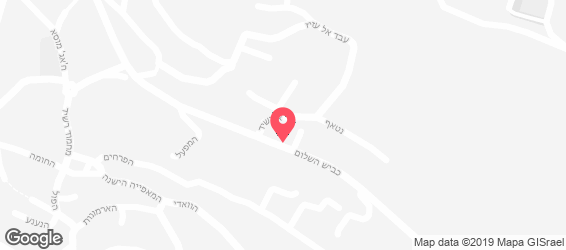 חומוס אבו שוקרי  - מפה