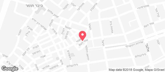 פופינה - מפה
