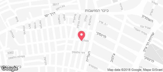 אוזריה  - מפה