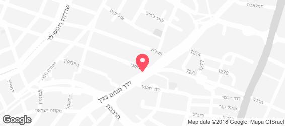 דייויס גריל ישראלי - מפה