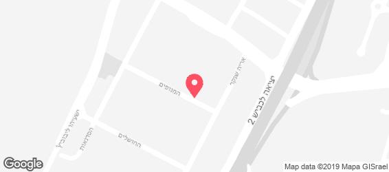 בהדונס חומוס - מפה