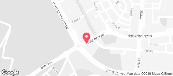 פאב הג'ק - מפה
