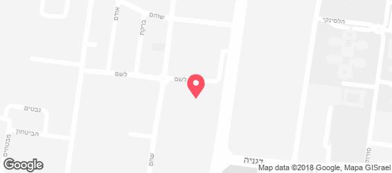 שיפודי ציפורה - מפה