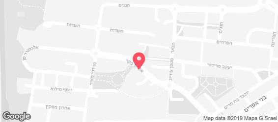 ג'ימיז פיצה - מפה