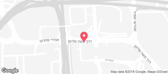 רפאלו, קניון קסטרא, חיפה - מפה