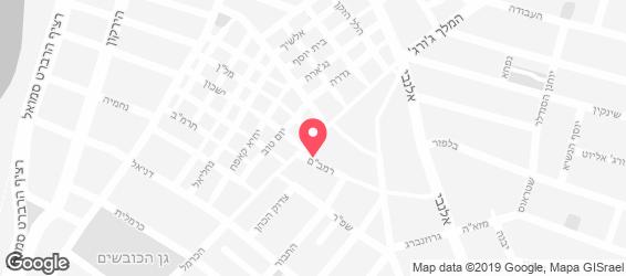 ביר בזאר - מפה