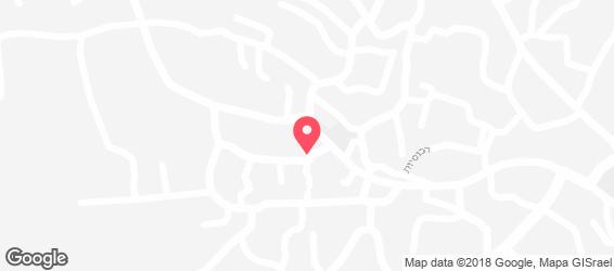 פלאפל אבו אמין - מפה