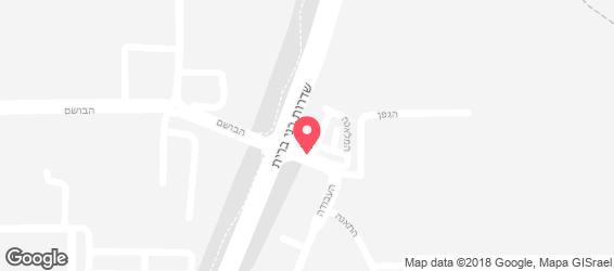 אולמי פרדייז - מפה