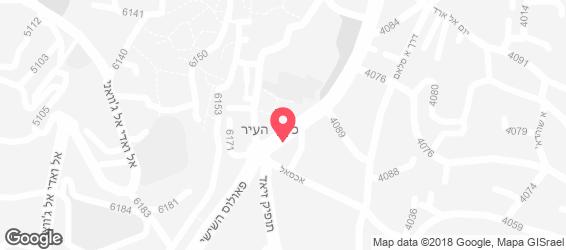 בונז'ור קובעין - מפה