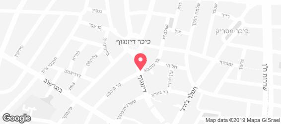ברד סטורי - מפה
