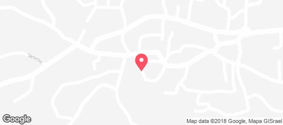 מסעדת עכו והים - מפה