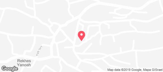 מסעדת אלמנסף - מפה