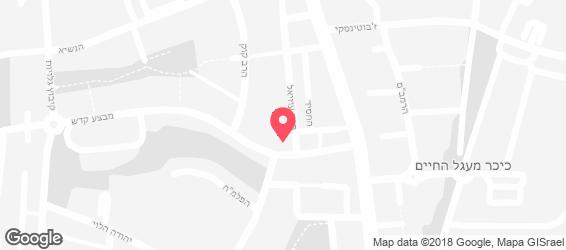 רחלה - בית המנגל והפול - מפה