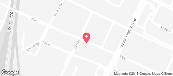 גולן גורמה - קונדיטוריה אישית - מפה
