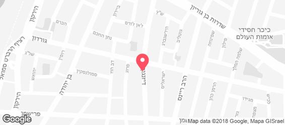 בורגר שופ הקטנה - מפה