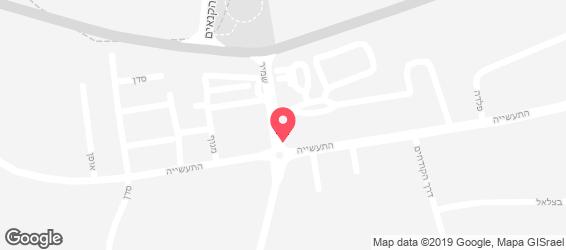 יו יו יוגורטלנד - מפה