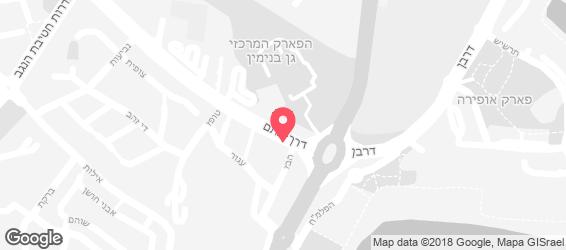פרויק'ה   - מפה