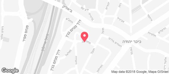 בלאקסטון ביסטרו - מפה